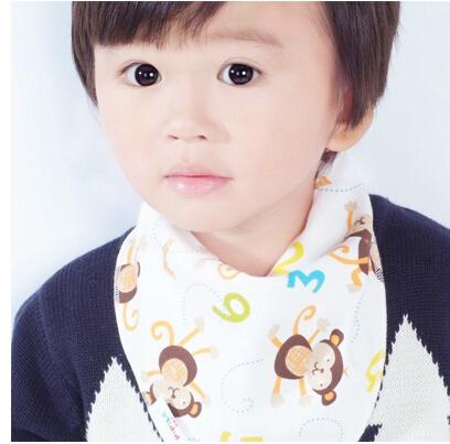 20Pcs Baby Kid Toddler Bandana Baby Bibs Saliva Towel Dribble Triangle boy girls cotton Head Scarf 32*43cm<br><br>Aliexpress