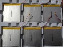 Dual handsome 3.7V polymer tablet battery 37100100 3.7 * 100 * 100 4500mah