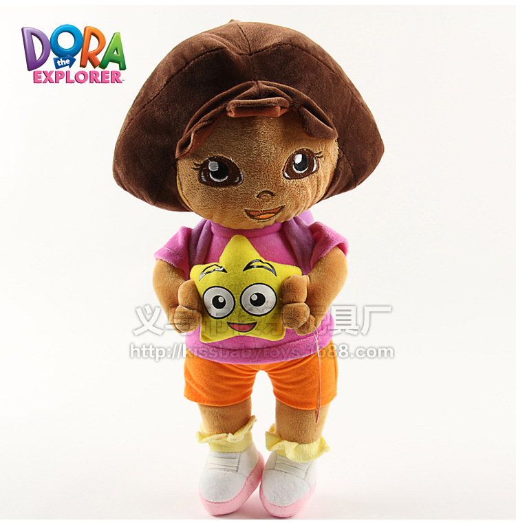 one piece anime 25cm Love adventure Dora Plush Toys Doll brinquedo baby gifts for zhe new year kvadrokopter(China (Mainland))