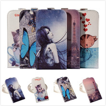 Fashion PU vertical style Flip Leather Cover Cases BLUBOO X9 Mobile Phone Case - girls store