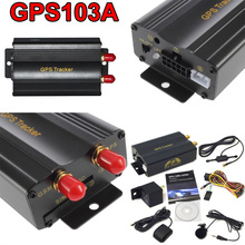 No Retail Box Real-Time GSM/GPRS Tracking Vehicle Car GPS Tracker 103A Tk103A TK103 GPS103A Real time tracker(China (Mainland))