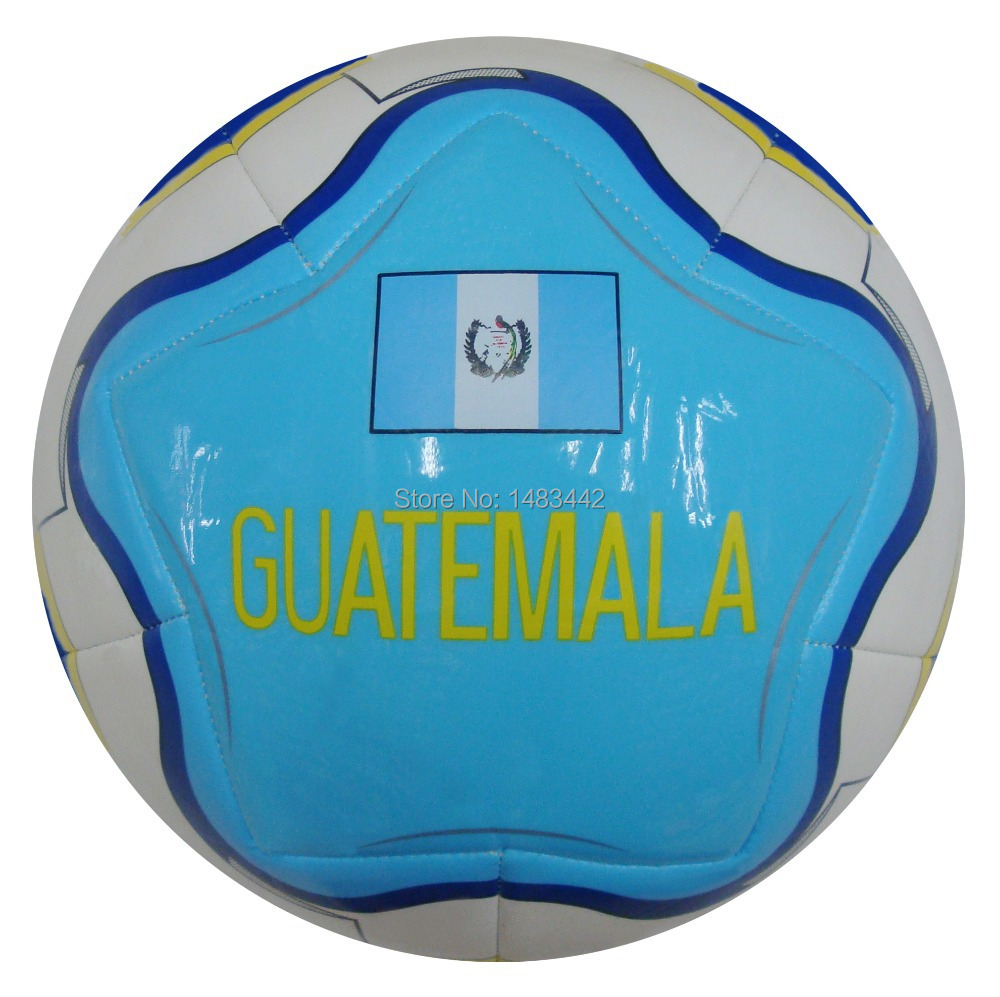 Free Shipping size 5 football machine Stitched Outdoor game soccer Football ball High quality GY-W055 Guatemala(China (Mainland))