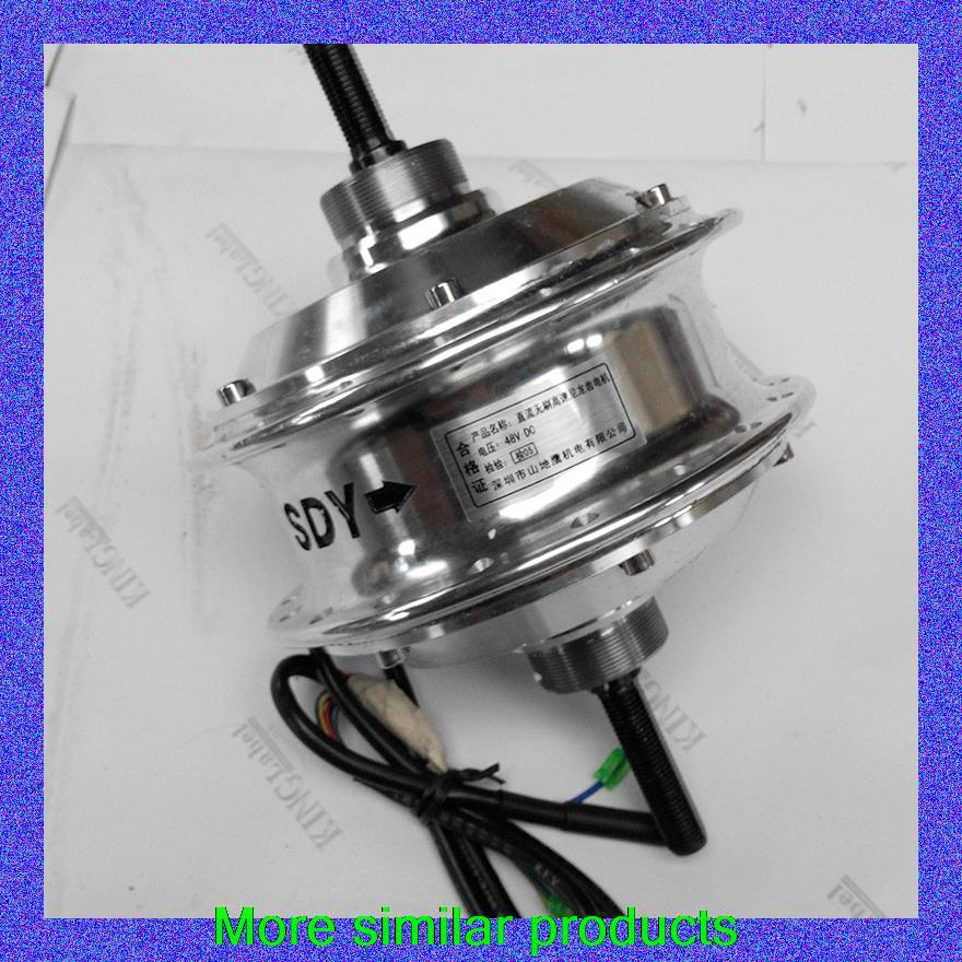 Electric bike conversion kit car tuning parts factory authorized brushless brushless motor low-speed gear hub(China (Mainland))