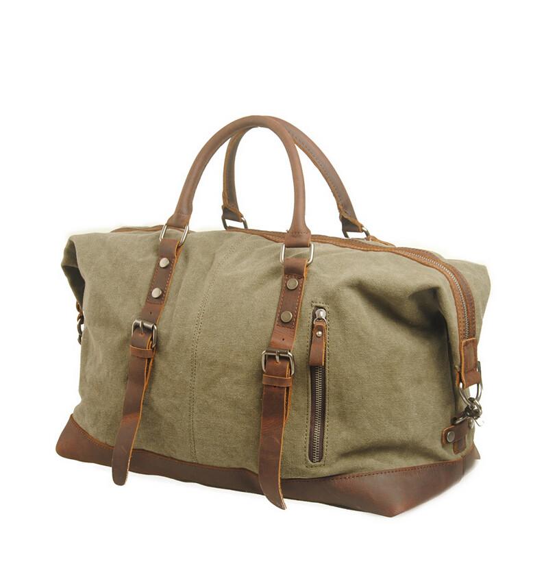 Fashion Men Vintage Travel Shoulder Bag Men Genuine Leather Messenger Sport Bags Crazy-horse Leather Suitcase(China (Mainland))
