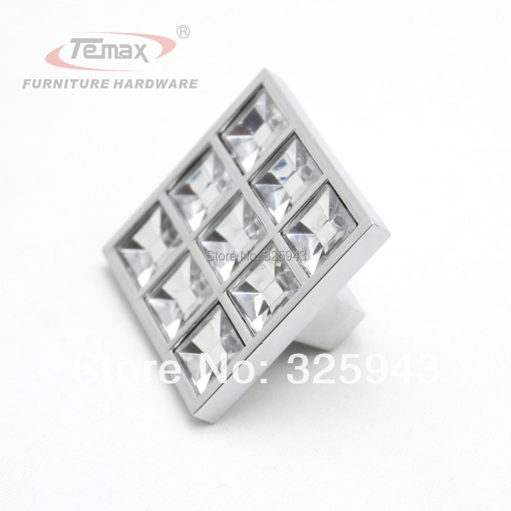 Гаджет  2pcs 30mm K9 Crystal Diamond Glass Knobs And Pulls Kitchen Cabinet Door Handle Furniture Hardware None Мебель