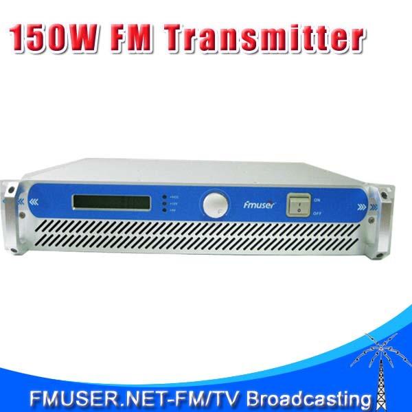 FMUSER FSN-150 0~150W Adjustable Professional FM Radio Transmitter for FM Radio Station(China (Mainland))