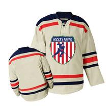 Custom Hockey Saves Home Road Ice Hockey Jersey(China (Mainland))