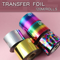 1pcs/lot Nail Art transfer Decal Foil Sticker for Nail Art Tips Decoration
