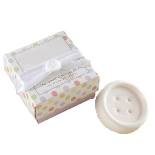 Bouton savon parfume mode pour cadeau de fete de naissance blanc sodial in ev - Fete pour naissance bebe ...