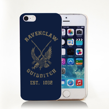 Harry potter Ravenclaw quidditch team Hard Transparent Cover Case for iPhone 4 4s 5 5s 5c 6 6s Protect Phone Cases