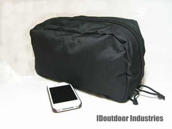 Utility Pouch MOLLE Horizontal Accessories Pouch black front sub-pouch