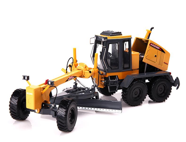 Motor Grader 1:35 Construction Vehicles Equipment Diecast Model Toy(China (Mainland))