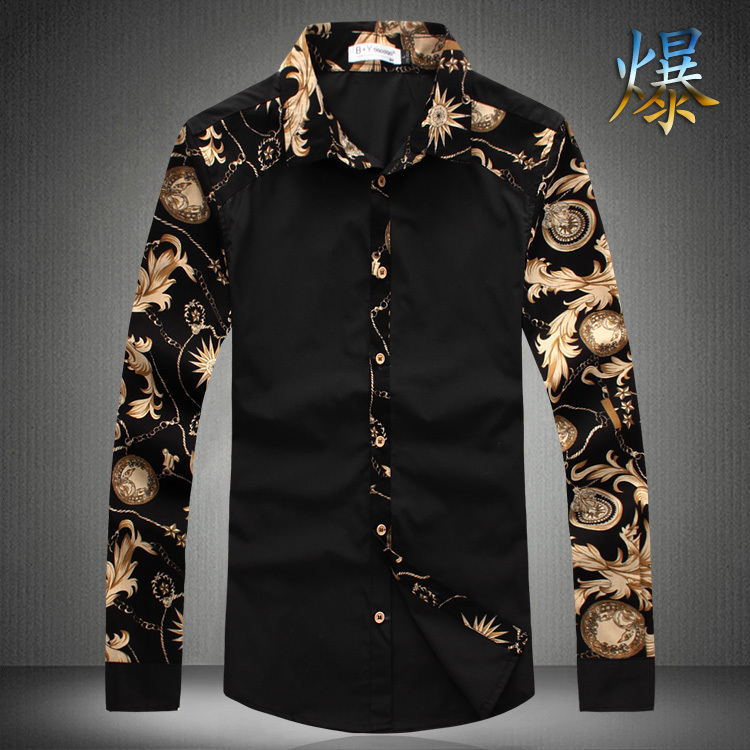 Black And Gold Shirts For Men | Is Shirt