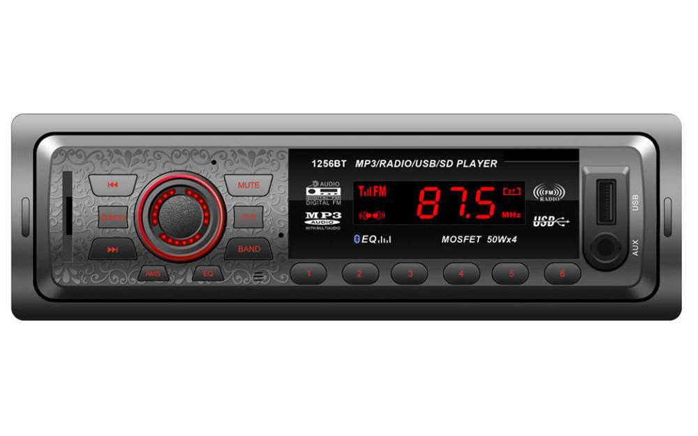 Car MP3 player In Dash Car Audio Bluetooth Stereo Head Unit MP3/USB/SD/AUX/FM Input AUX Support USB/SD/MMC card reader(China (Mainland))
