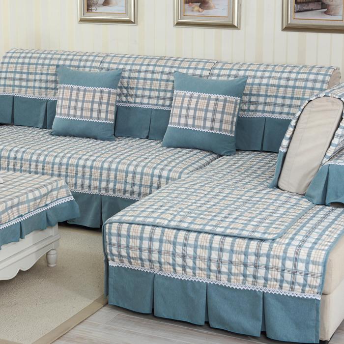 Simple Combination Sofa Cushion Towel Armrest Summer