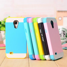 For Samsung Galaxy S4 mini Case Silicone Hybrid Hard Plastic Colorful Phone Cases For Samsung Galaxy S4 mini i9190 Cover case(China (Mainland))