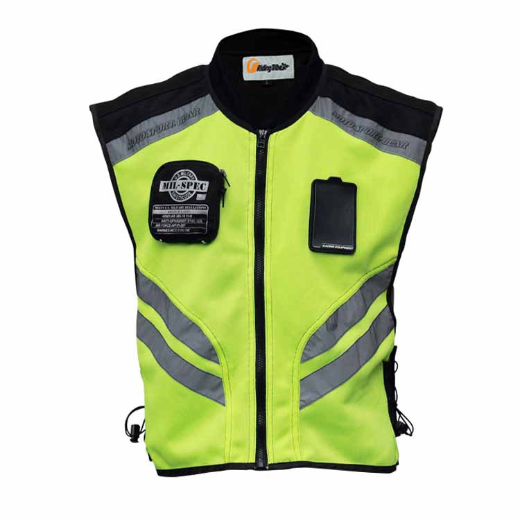Pro-biker high visibility jacket reflective clothing ride reflective vest motorcycle reflective vest