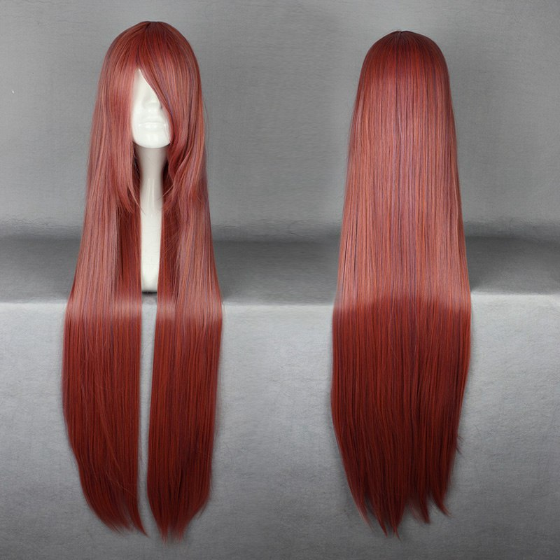 Free Shipping Out of the Ordinary Very Nice Color Mixed Long Straight Anime Cosply Halloween Party Wig<br><br>Aliexpress