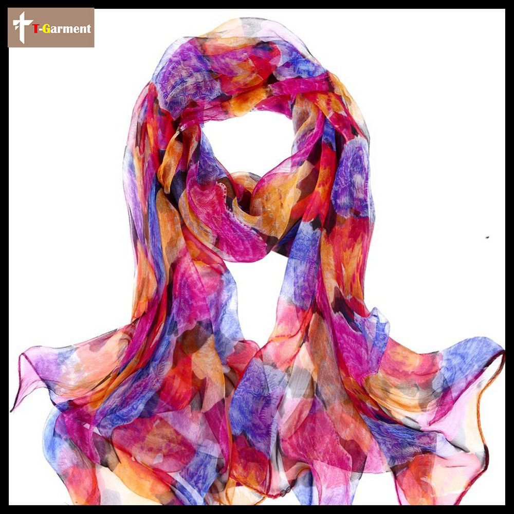 Free shipping Hot Sale real silk Women lady Female High Quality Summer Autumn 180 * 100 cm Scarf Soft Shawl ZS59(China (Mainland))