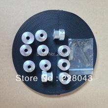 Buy 10M gt2 belt, 5pcs gt2 pulley 20 teeth 5mm bore 5pcs 2gt2 pulley 20 teeth 8mm bore for $45.00 in AliExpress store