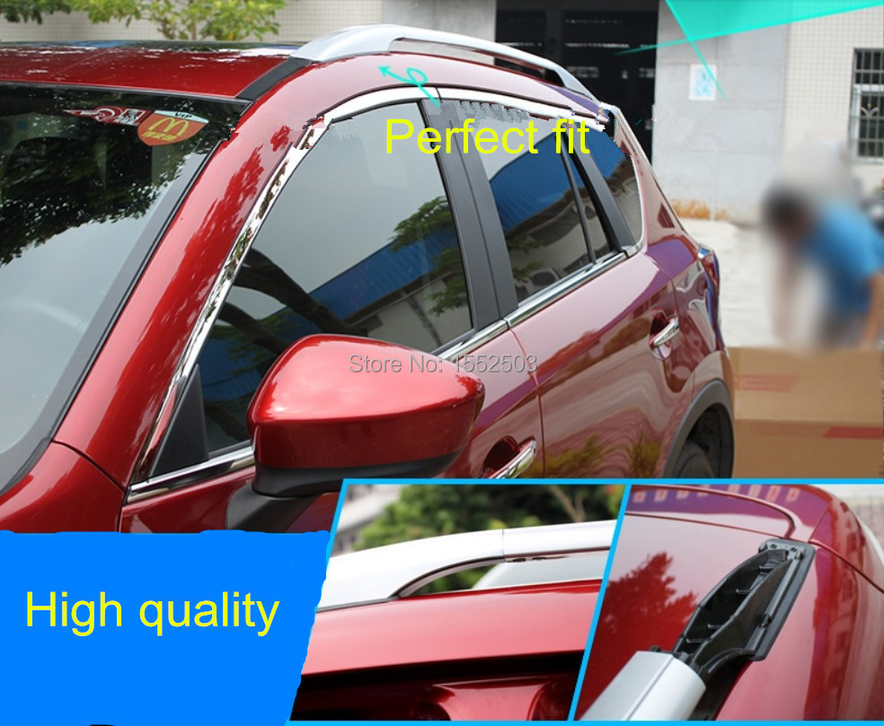 Roof Rack silver color painted Fit For Mazda CX-5 CX5 2012 2013 2014(China (Mainland))