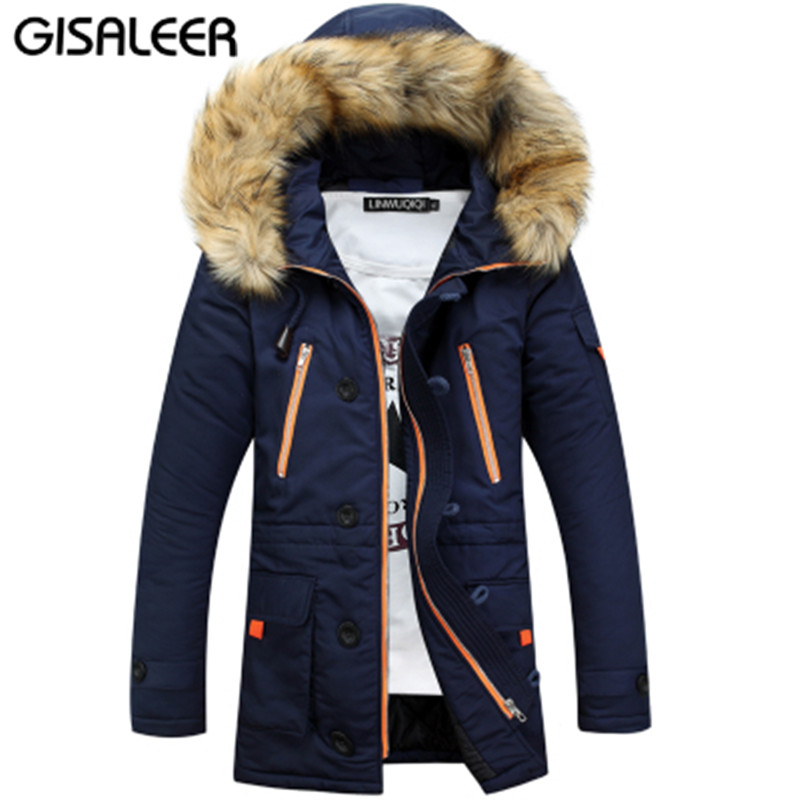 2016 Winter Weather Jacket Men Thickening Warm Fur Hooded Collar Jackets Down Coat Baseball Design Outdoors Veste Homme Parka(China (Mainland))