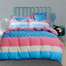 Warm your winter thicken twill bedclothes bedding sets queen size !! comforter flat sheet pillowcase duvet cover bed set(China (Mainland))
