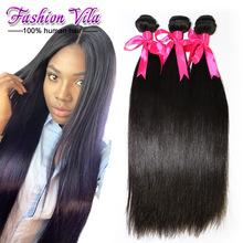 6A Brazilian straight hair extension 3 bundles/lot 10″-26″ very soft brazilian hair weave bundles free shipping tangle free