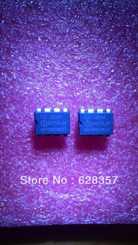 Free Shipping    60pcs   ICE2B265     2B265   DIP-8