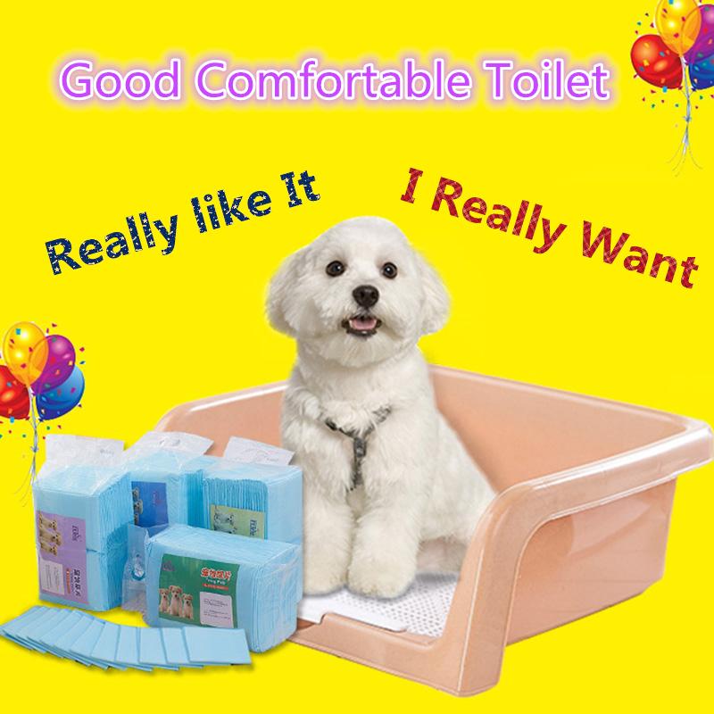 Pet Dog Accessories Toilet Small Medium Supplies Plastic Pet Health Prevent Paw Cleaner Splash Leakage Dog Toilet Training 70908(China (Mainland))
