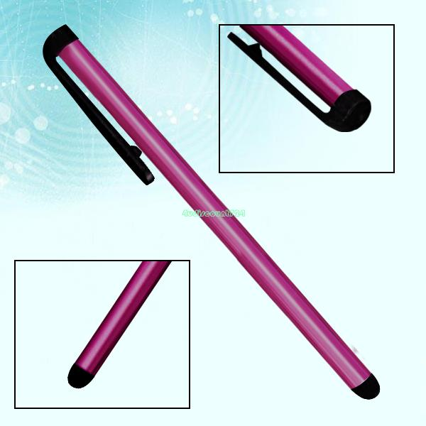 universal capacitive stylus touch screen stylus pen for iphone 4 4s 5 5s 6 6 plus for ipad 4 EG0615 rose(China (Mainland))