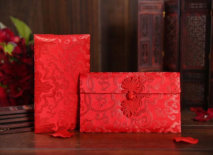 Chinese Wedding Gift Envelope : ... envelope Chinese wedding cloth red packets Chinese gift envelope(China
