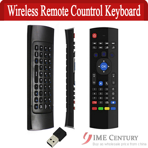 2.4G Wireless Remote Control Keyboard Air Mouse for Android TV Box XBMC Smart TV IPTV Networked Set-top Box Mini PC controller(China (Mainland))