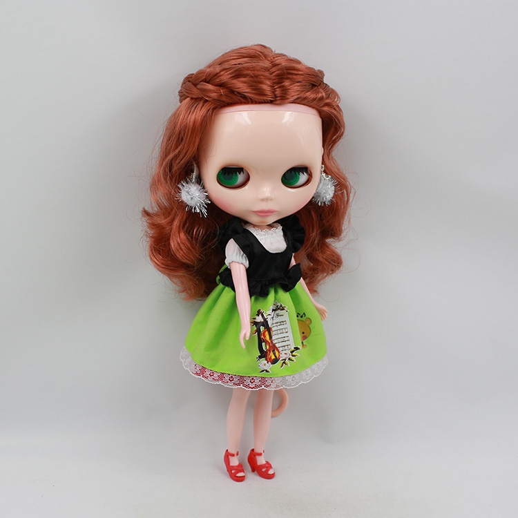Blyth doll Nude collectible doll birthday gift modified makeup dolls for girls copper-colored hair DIY bjd dolls for sale<br><br>Aliexpress
