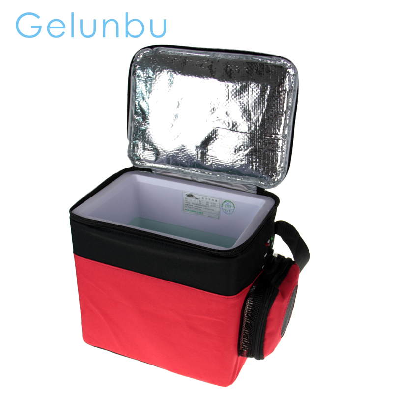12V 6L Cooling And Heating Mini Fridge Nevera Portable Geladeira Portatil Auto Car Refrigerator For Trucks Cooler Box Freezer()