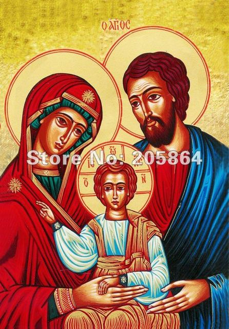 Free shipping hot sell fabric picture,new technical items,Jesus family