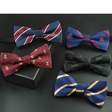 Lovely children bow tie butterfly red black tartan cravat student activities stage performances boys and girls 4-12years old