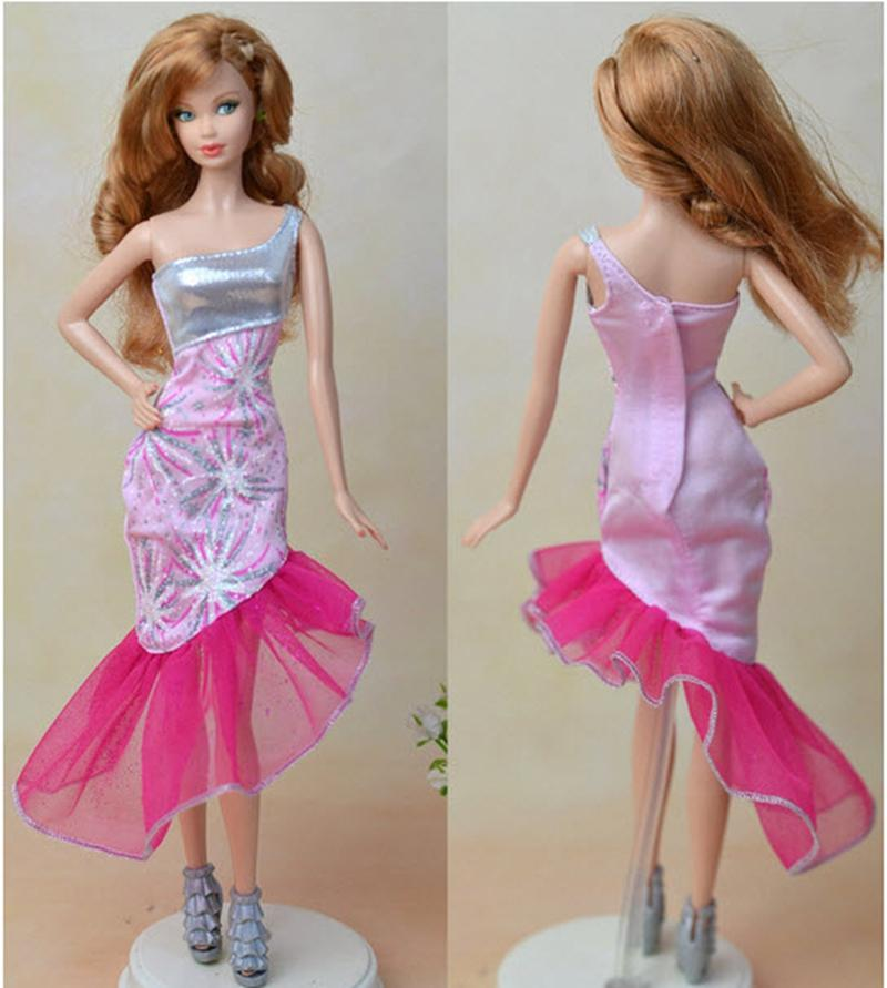 Excessive High quality Handmade Get together Costume For Barbie Dolls For Monster Excessive Dolls Fairly Costume Vestido Reward For Lady Dollhouse