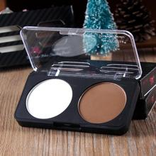 MAYCHEER 2 Colors Pefect Shading Makeup Face Contour Powder Palette Foundation highlight contour Make up Concealer (China (Mainland))