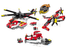 Military Building Block Sets Compatible with lego Helicopters ship 3D Construction Bricks Educational Hobbies Toys for Kids