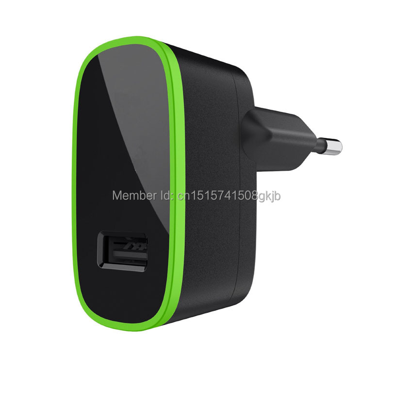 EU Plug 10W 2.1A One Port USB Home Wall Charger Adapter For Belkin Samsung Iphone Ipad HTC With Original Retail Package(China (Mainland))