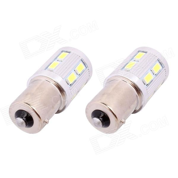 2pcs 12 SMD 5630 5730 LED 1156 BA15S Red White 1157 BAY15D Car Tail Led Bulb Brake Lights auto Fog Lamps(China (Mainland))