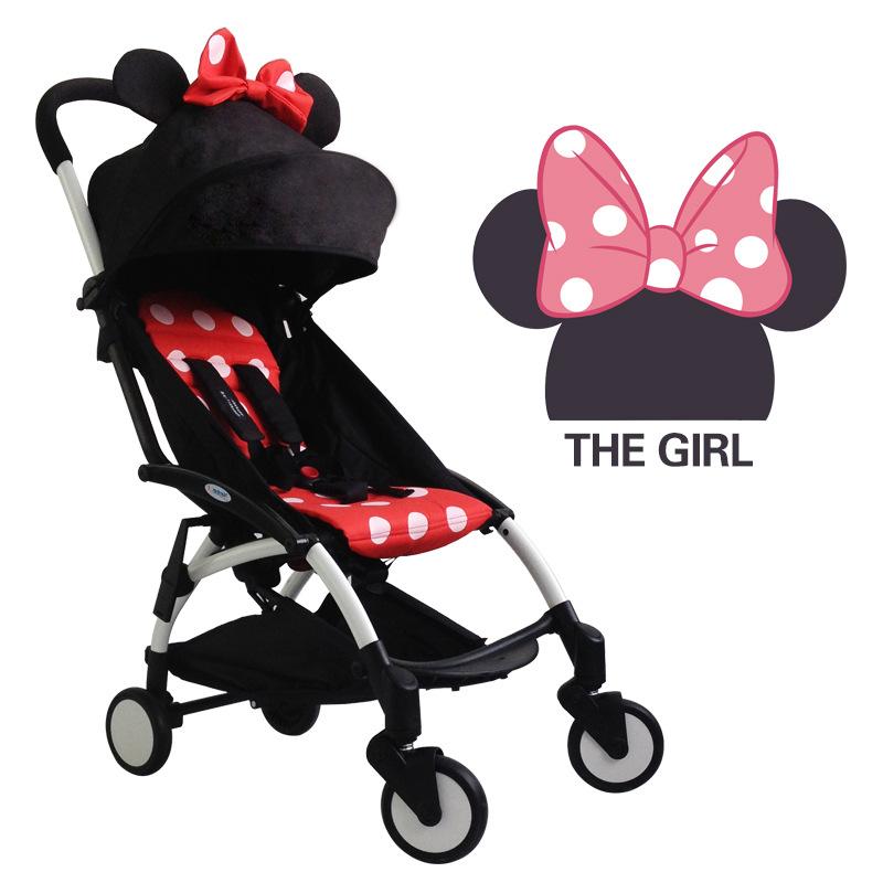 Multifunction Portable Folding Baby Stroller Car baby Carriage Pram With Four Wheel Baby Umbrella Lightweight Stroller<br>