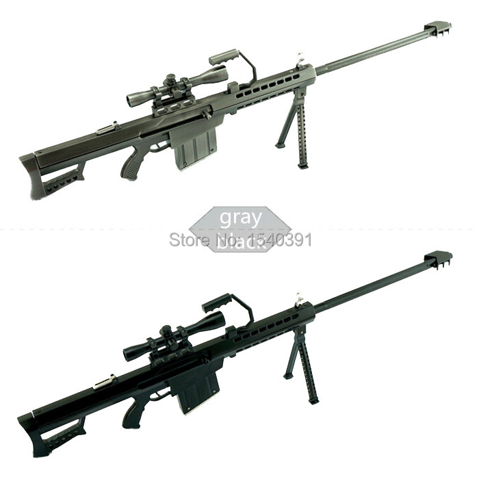 1:3.5 Metal Toy gun Miniature Sniper Rifle Barrett M82a1 Sniper rifle Alloy model gun(China (Mainland))