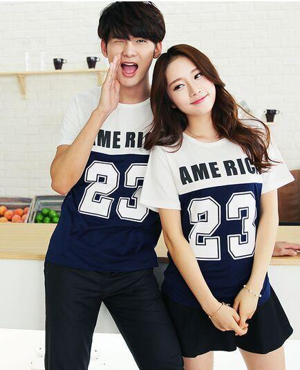 korean style couple shirts images