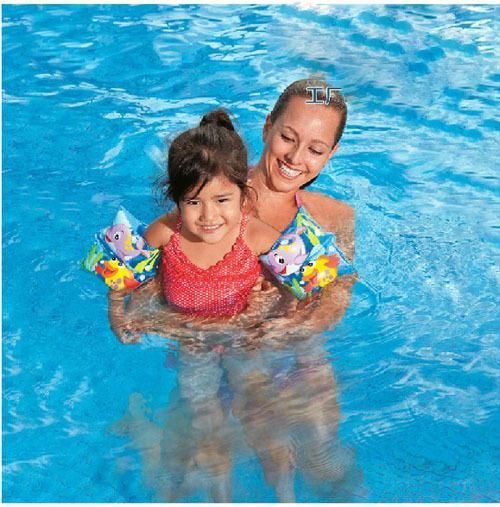 Дети рука кольца детей мультфильм надувные пвх детская рука с плавающей плавать кольцо