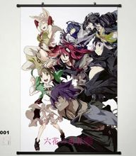 Wall Scroll Home Decor Anime Poster Rokka no Yusha Adlet Mayer 001 Whole roles