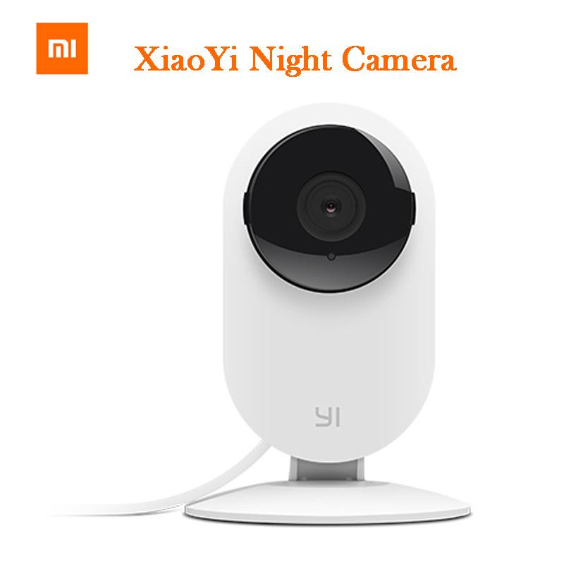 100% Original Xiaomi Yi Smart Camera Xiaoyi ants Smart Webcam IP camera wifi wireless camaras cctv cam Night Vision Edition(China (Mainland))