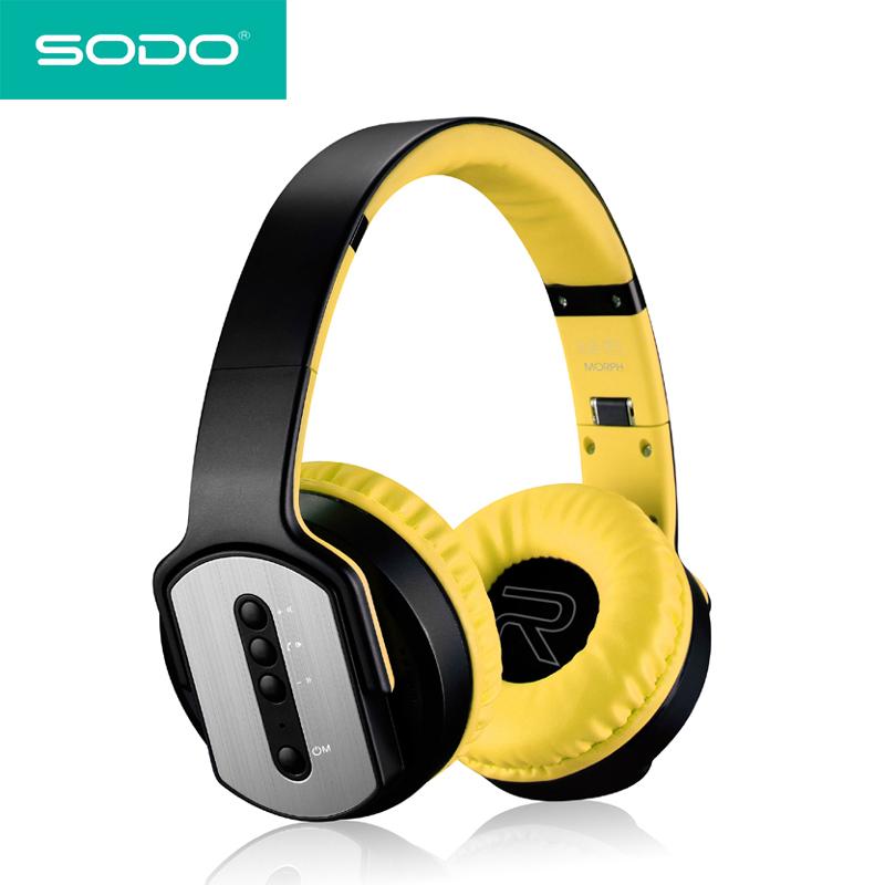 Sodo Mh5 Bluetooth Headphone Twist Out Speaker Bluetooth 4: Headset Speakers Promotion-Shop For Promotional Headset