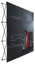 Good quality Trade Show display Pop up banner stand 225cmx225cm(China (Mainland))